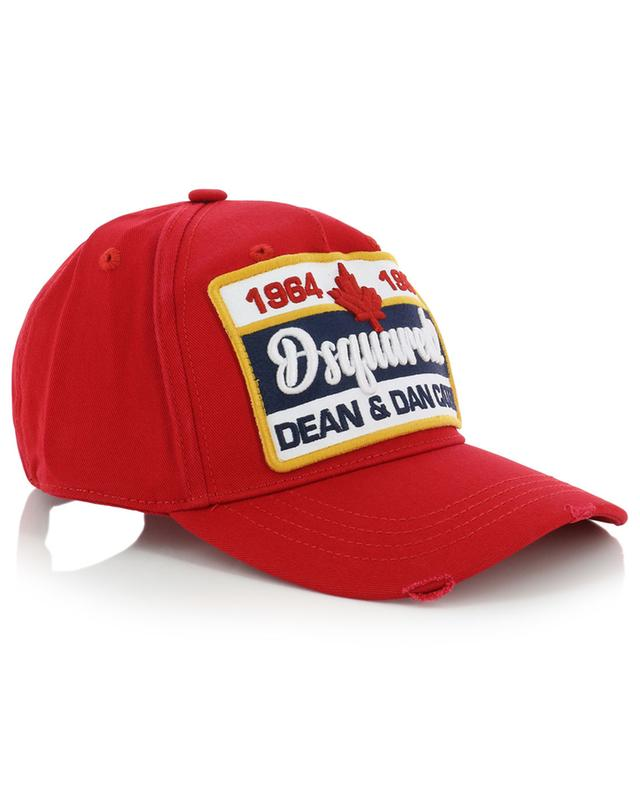 Baseball cap with embroidered patch DSQUARED2