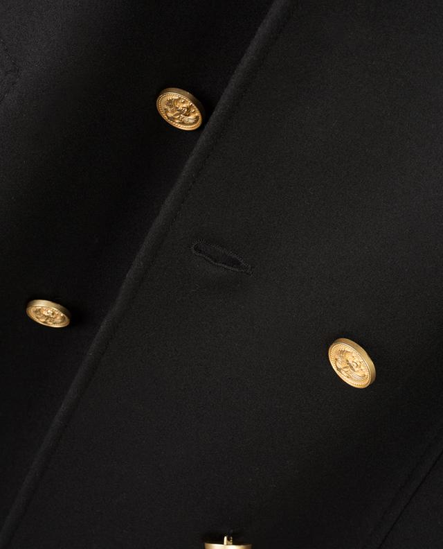 Manteau long en laine vierge mélangée RED VALENTINO