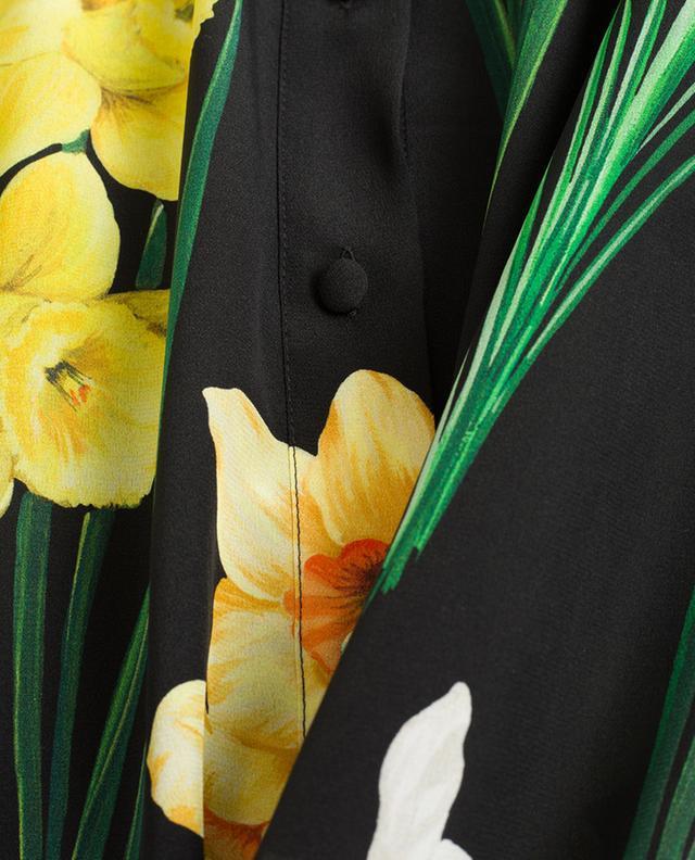 Bedrucktes Hemd aus Seide DOLCE & GABBANA