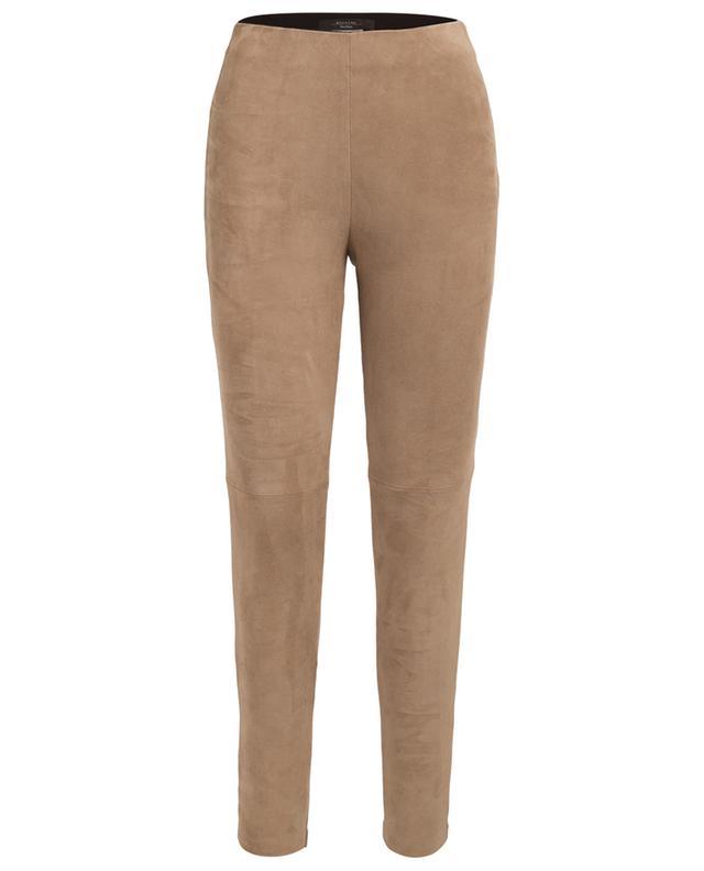 Pantalon skinny en daim et viscose Adamo WEEKEND MAXMARA