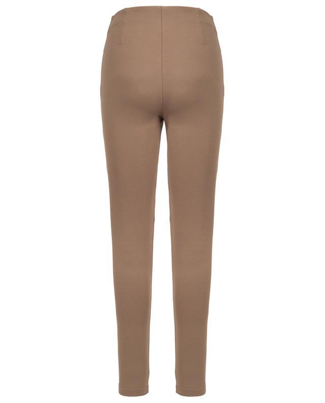 Adamo suede and viscose skinny fit trousers WEEKEND MAXMARA