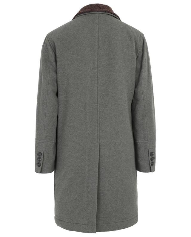 Padded wool and cashmere coat BRUNELLO CUCINELLI