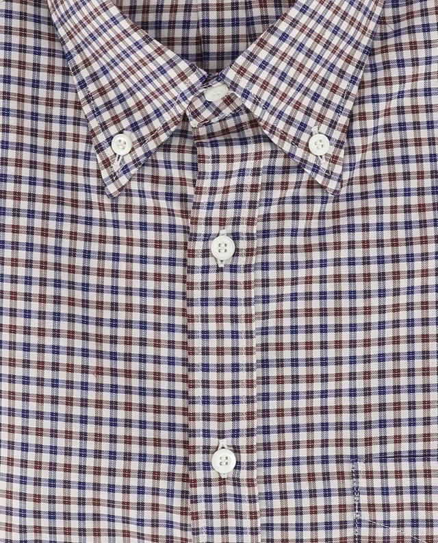 Cotton check shirt BRUNELLO CUCINELLI