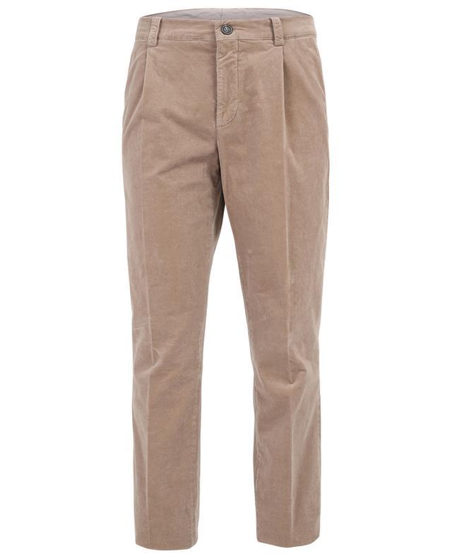 Straight curdoroy trousers BRUNELLO CUCINELLI
