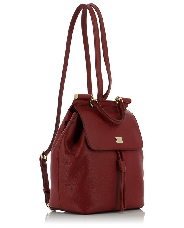 Sicily textured leather backpack DOLCE & GABBANA
