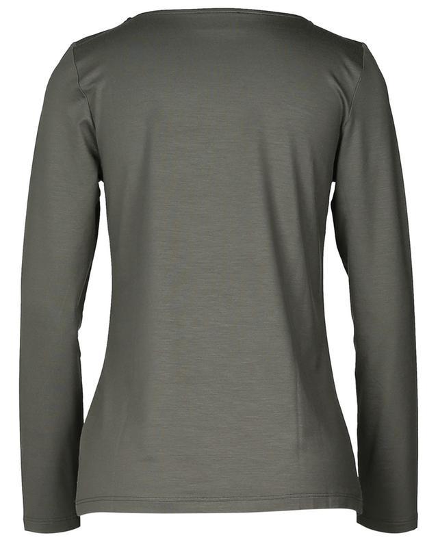 Long sleeved viscose blend top FRATELLI M