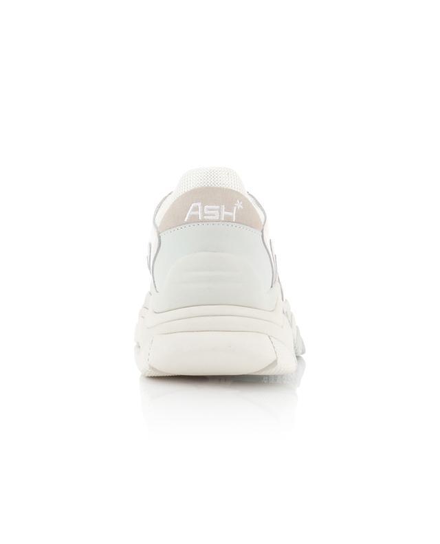 Keilsneakers aus Stoff und Leder Addict ASH