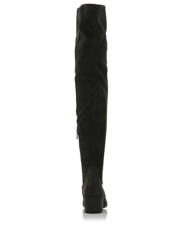 Diva leather and faux suede boots ASH