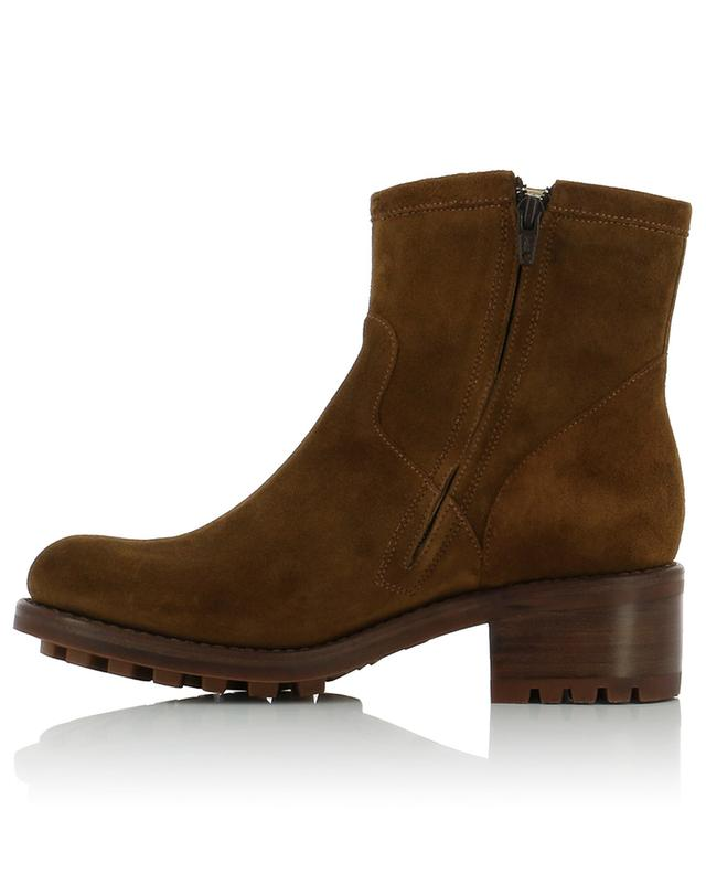 Bottines en daim Biker 4 Small FREE LANCE