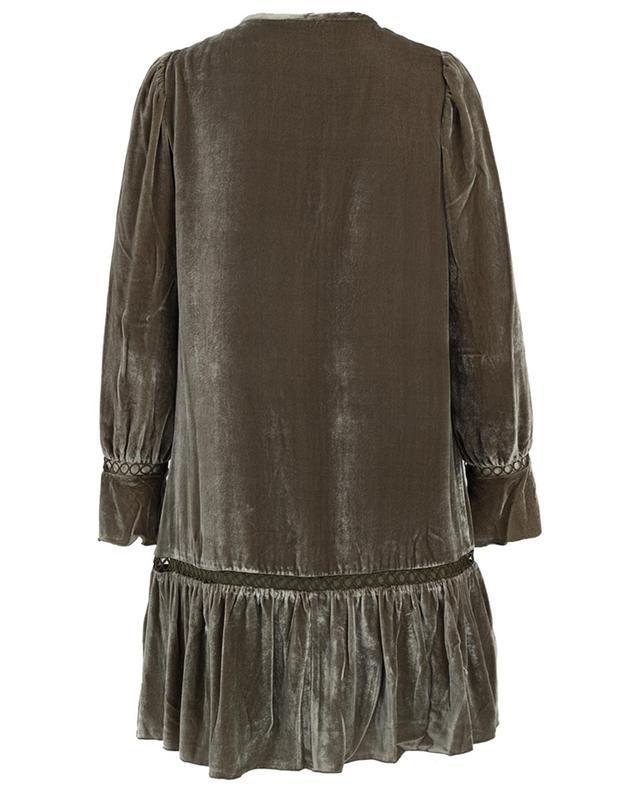 Kurzes Kleid aus Samt Olga HEMISPHERE