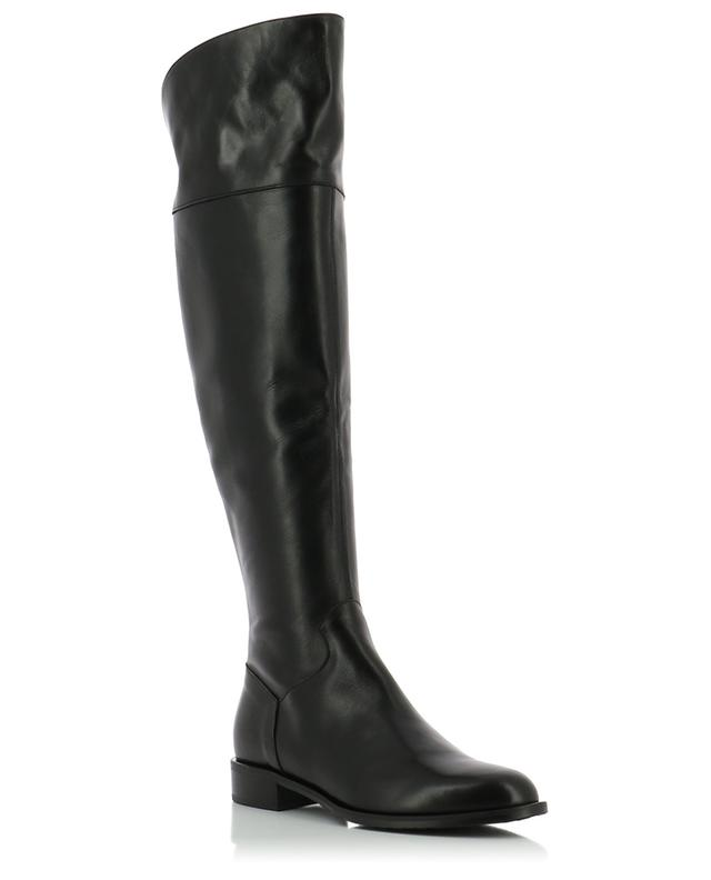 Flat smooth leather boots BONGENIE GRIEDER