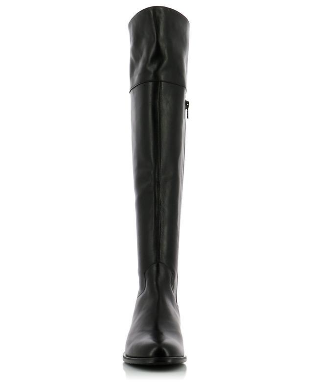 Flache Stiefel aus Glattleder BONGENIE GRIEDER