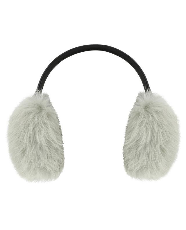 Ohrenschützer aus Kaninchenpelz YVES SALOMON