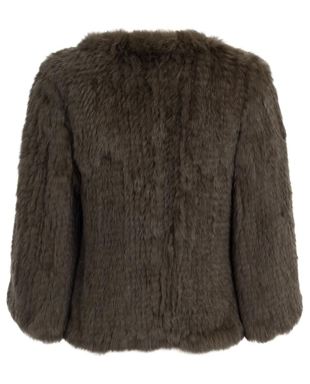 Jacke aus Kaninchenpelz YVES SALOMON