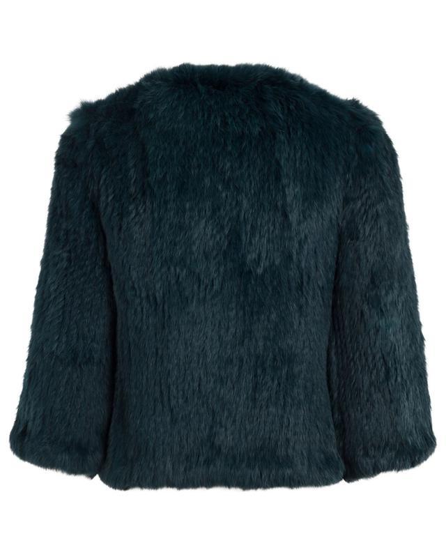 Rabbit fur jacket YVES SALOMON