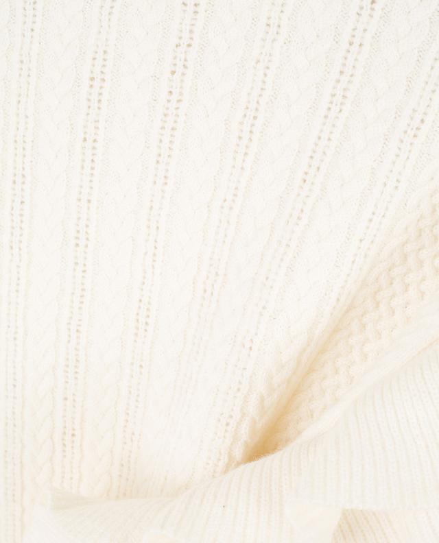 Zopfstrickpullover aus Viskose und Wolle PHILOSOPHY