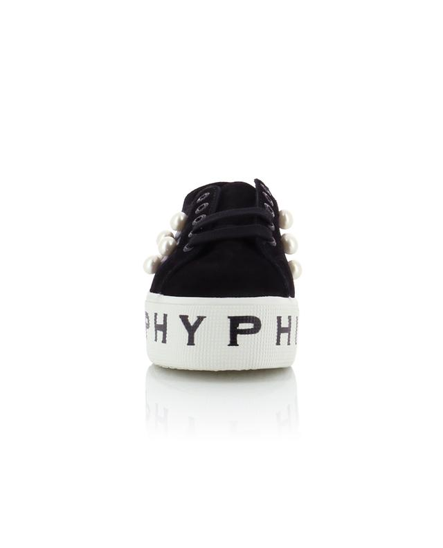 Sneakers aus Wildleder und Segeltuch PHILOSOPHY