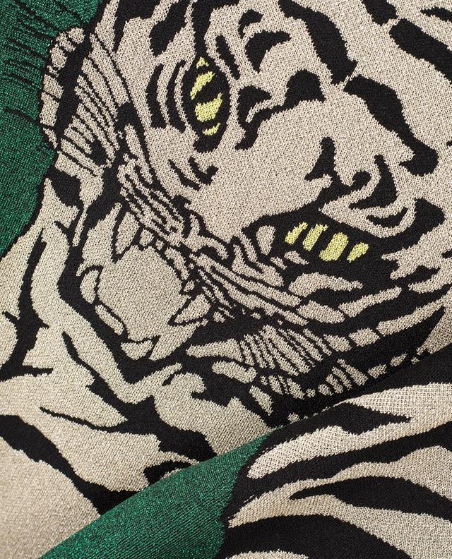 Robe jacquard en lurex Tiger Re-edition VALENTINO