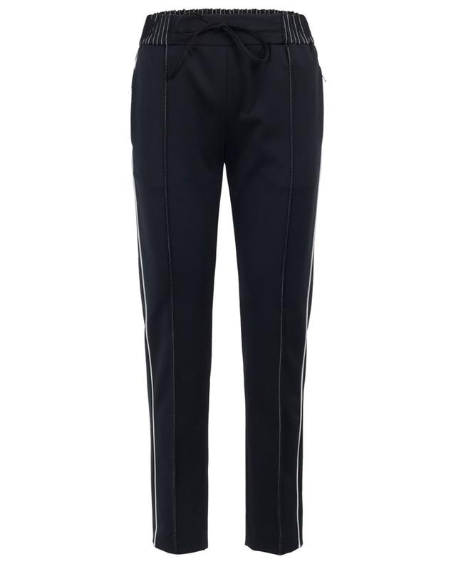 Tapered-leg crepe trousers VALENTINO