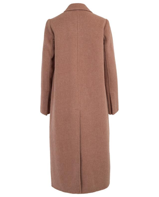 Langer Oversize-Mantel aus Wolle VINCE