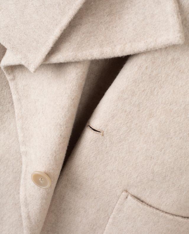 Blanket wool blend coat VINCE