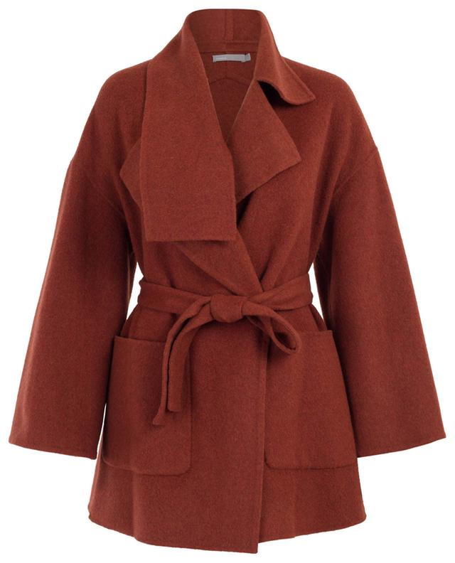 Blanket wool blend coat VINCE