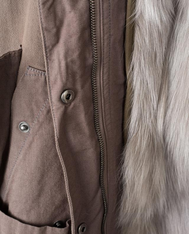 Parka lined with fur Y SALOMON ARMY