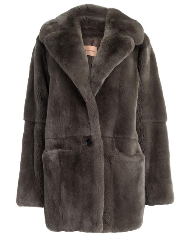 Rabbit fur coat YVES SALOMON