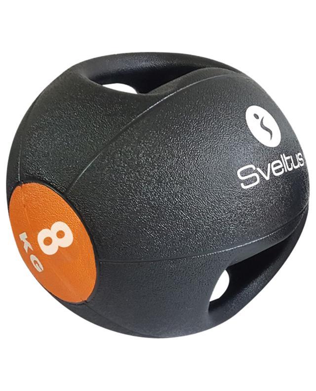 Médecine ball avec poignées 8 kg SVELTUS