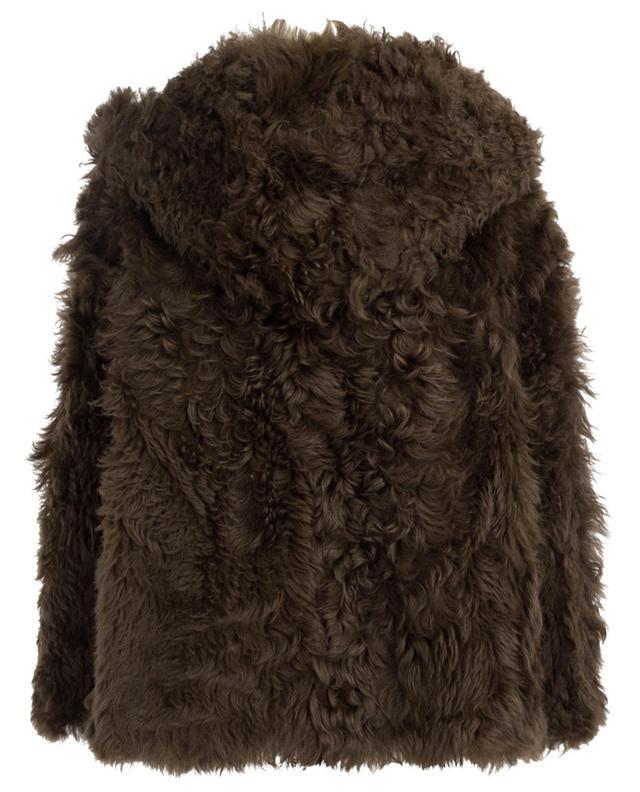 Veste réversible en peau lainée YVES SALOMON