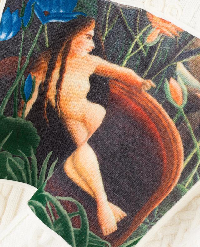 Zopfstrickpullover aus Wollmix Memento n°3 KENZO