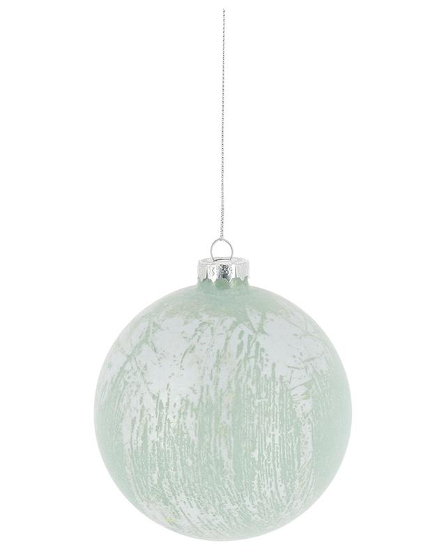 Large glass Christmas bauble GOODWILL