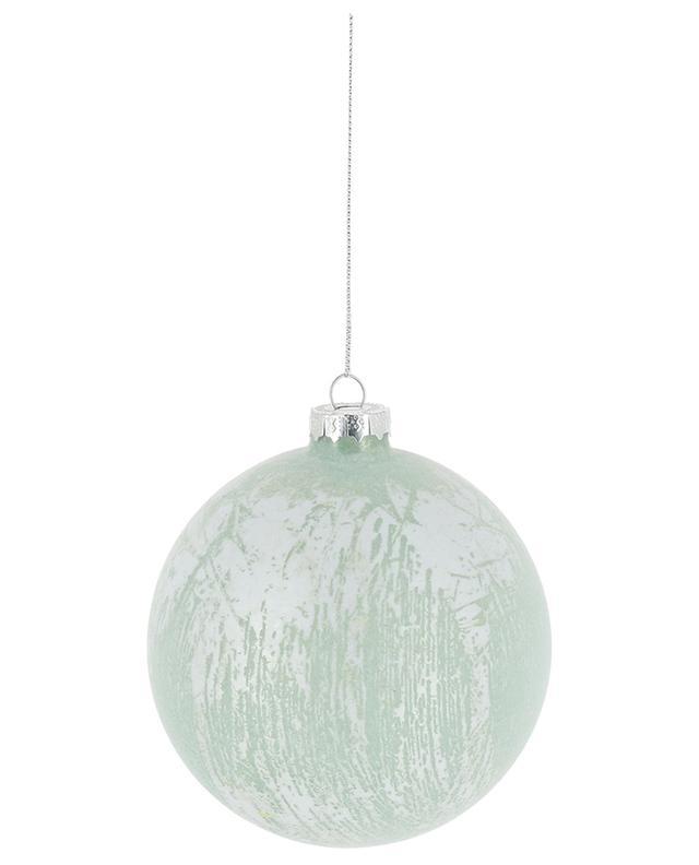Grande boule de Noël en verre GOODWILL