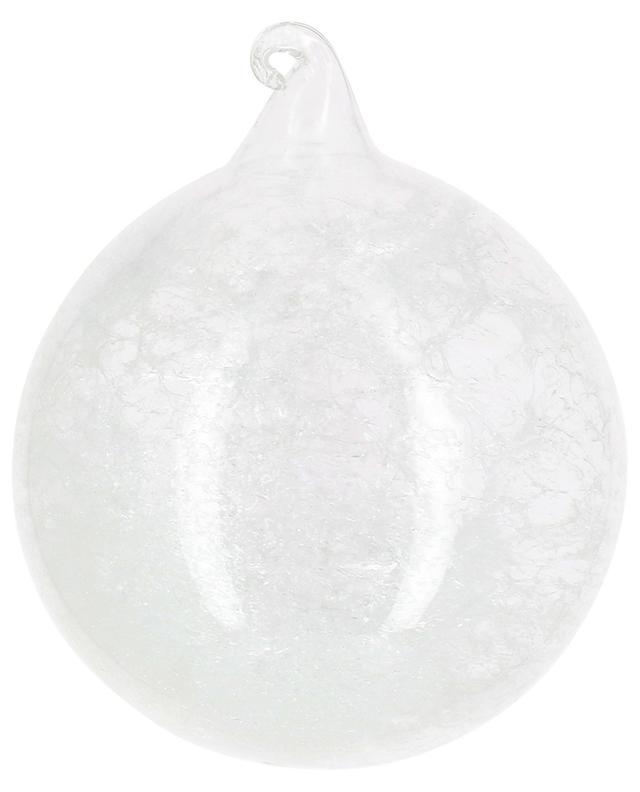Christbaumkugel aus Glas GOODWILL