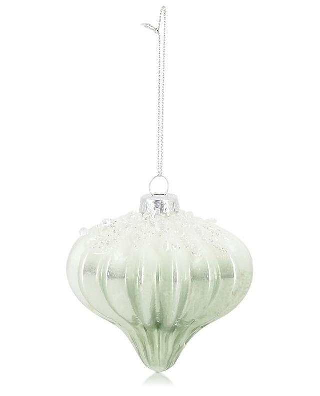 Glass Christmas ornament GOODWILL