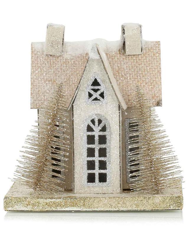 Petite maison lumineuse en carton GOODWILL