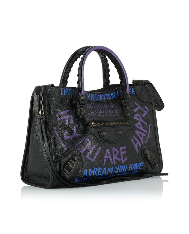 efeb3a11c8b BALENCIAGA Classic City S Graffiti handbag - Bongénie-Grieder