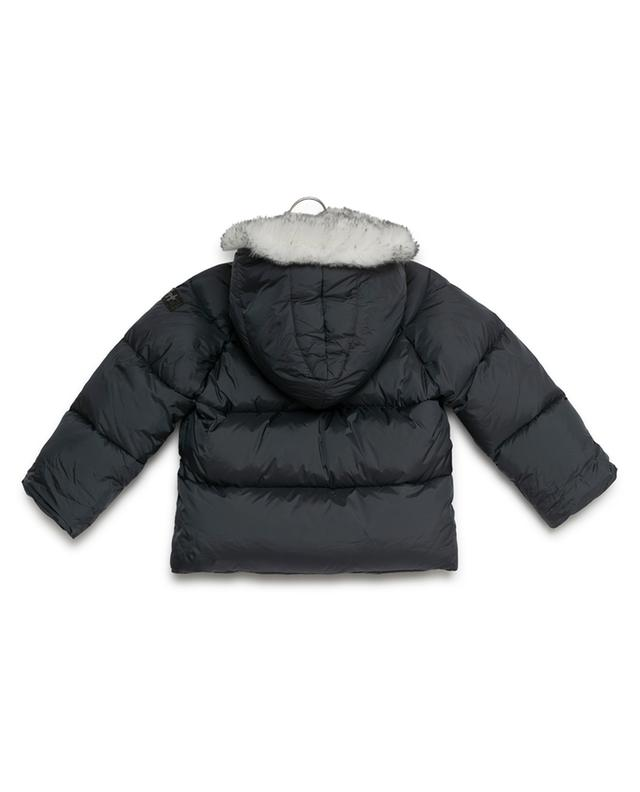 Hooded down jacket IL GUFO