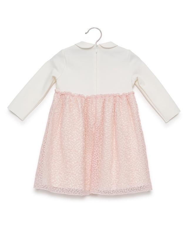 Kleid aus Viskosemix mit Tüll IL GUFO