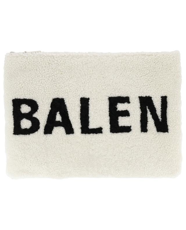 Grieder En Lainée Bongénie Balenciaga Pochette Peau Shearling zUMVSp