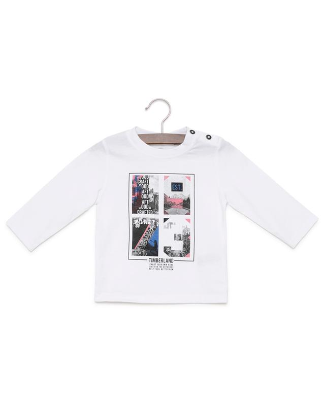 Printed long-sleeved T-shirt TIMBERLAND