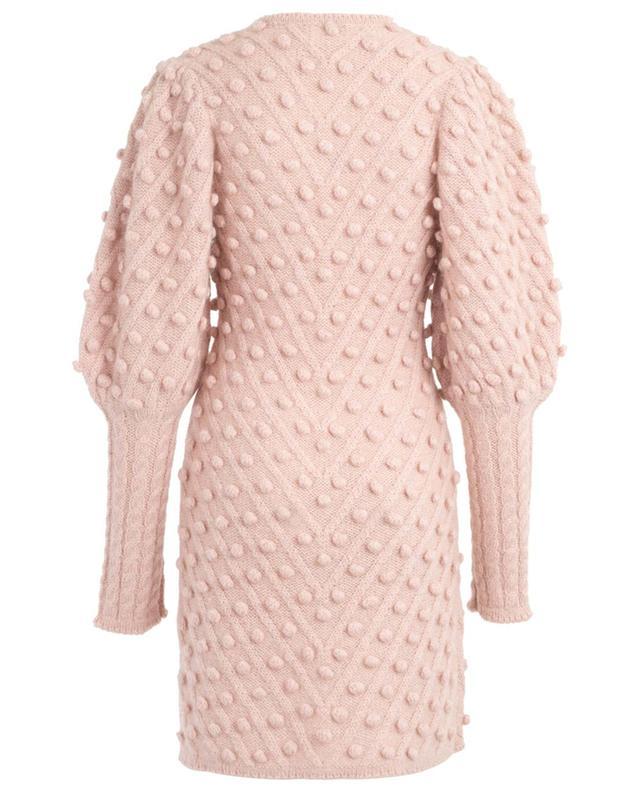 Wool and mohair blend knit dress ZIMMERMANN