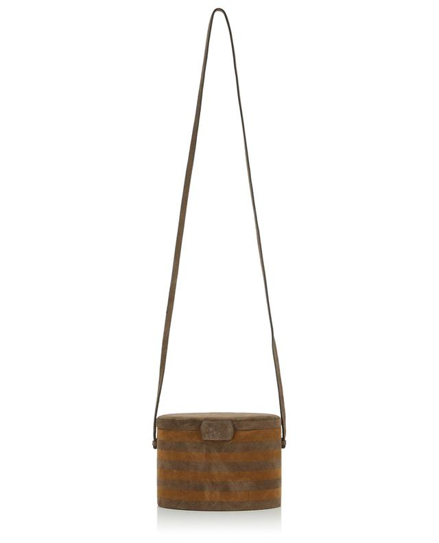 Trunk suede shoulder bag HUNTING SEASON