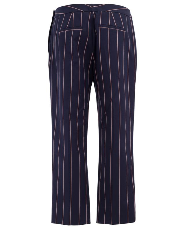 Straight cropped cotton trousers VICTORIA BECKHAM
