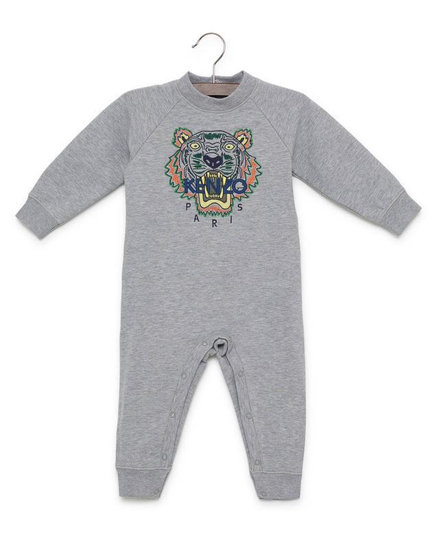 Tiger cotton blend jumpsuit KENZO