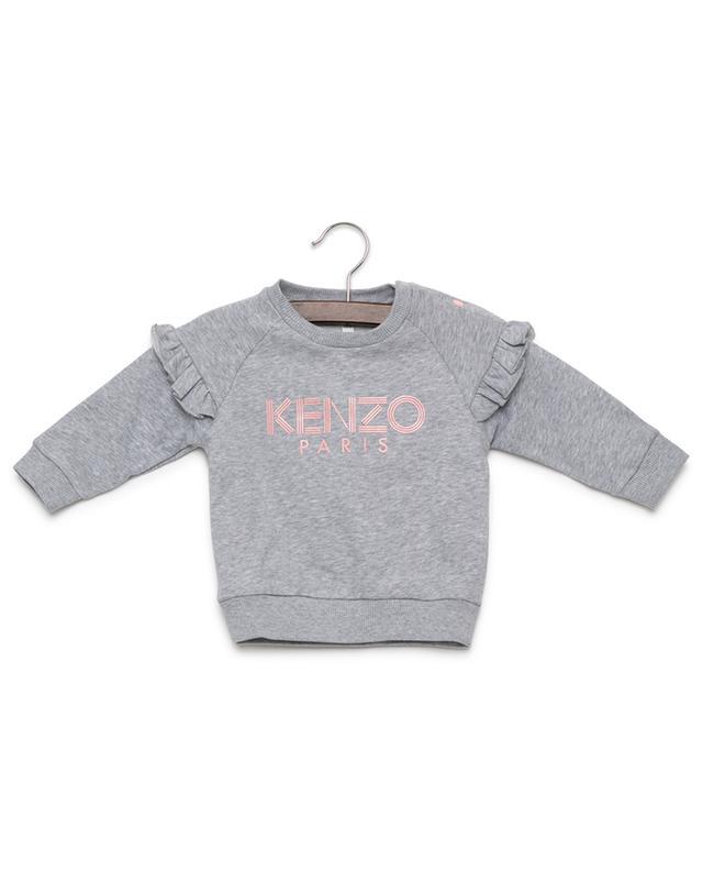 c8a7a96df1b KENZO Logo cotton sweatshirt - Bongénie-Grieder