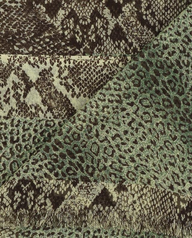 Leichter Schal aus Kaschmir und Seide PASHMA