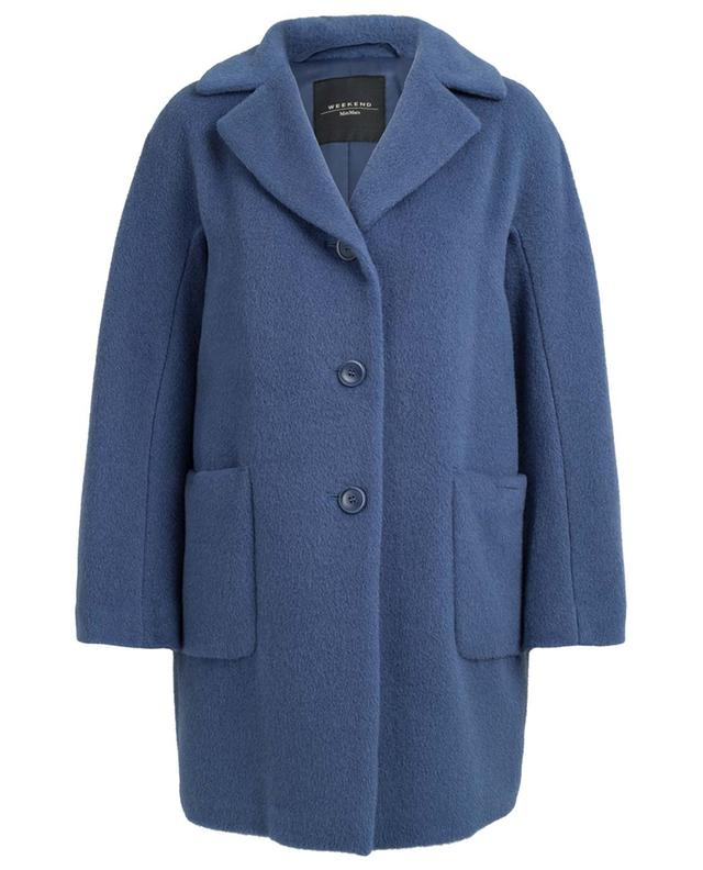 Manteau en alpaga et laine Green WEEKEND MAXMARA