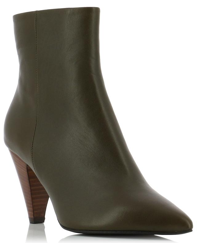 Heeled leather ankle boots BONGENIE GRIEDER