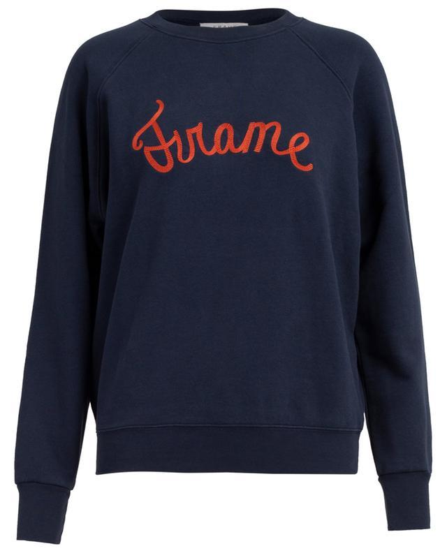 Cotton blend sweatshirt FRAME